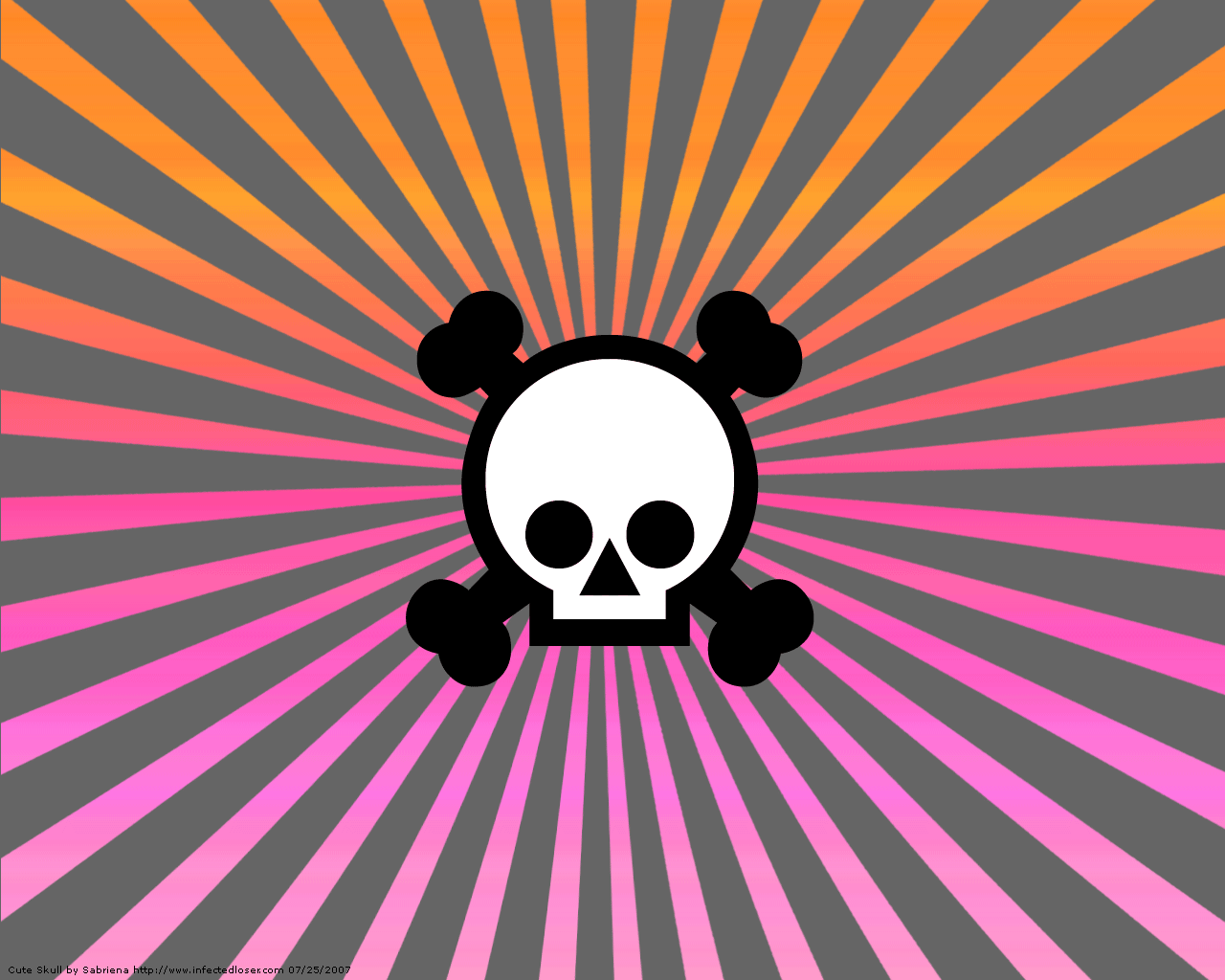 Cute Skull Wallpaper