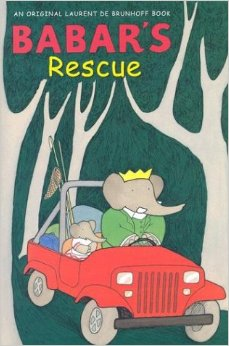 Kiddie Corner Reviews: Babar's Rescue by Laurent De Brunhoff